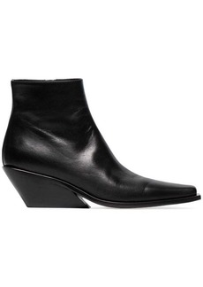 Ann Demeulemeester 50 Leather Ankle Boots