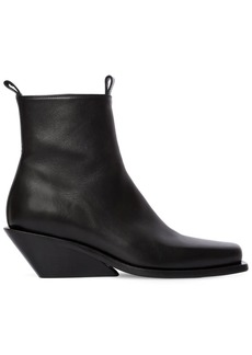 Ann Demeulemeester 50mm Leather Cowboy Boots