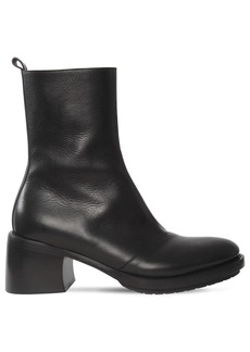Ann Demeulemeester 70mm Leather Boots