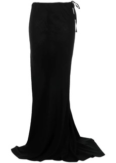 Ann Demeulemeester A-line floor-length skirt