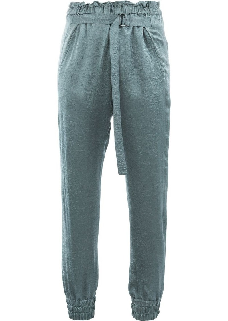 Ann Demeulemeester adjustable waist trousers