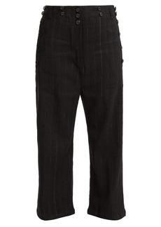 Ann Demeulemeester Algernon buttoned wool-blend trousers