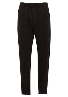 Ann Demeulemeester Arcille straight-leg cotton trousers