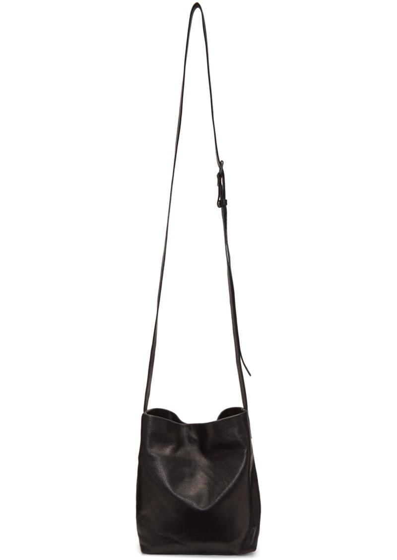 Ann Demeulemeester Black Small Wodan Bag