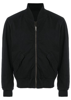 Ann Demeulemeester Blanche cropped bomber jacket - Unavailable