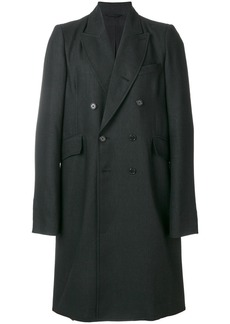 Ann Demeulemeester Blanche double-breasted coat - Black