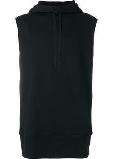 Ann Demeulemeester hooded sweatshirt - Black