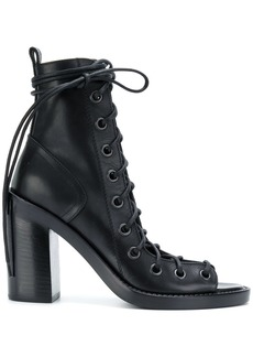 Ann Demeulemeester Blanche lace-up sandals - Black