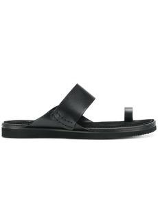 Ann Demeulemeester Blanche slip-on sandals - Black