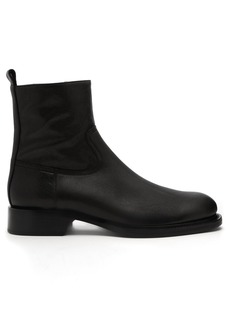 Ann Demeulemeester Canyon leather ankle boots