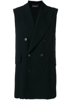 Ann Demeulemeester classic double-breasted vest - Black