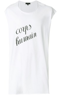 Ann Demeulemeester Corps Humain tank top - White