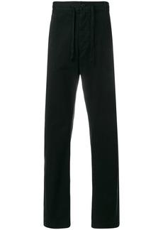 Ann Demeulemeester drawstring trousers - Black