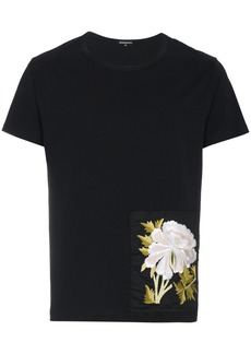 Ann Demeulemeester embroidered patch T-shirt - Black