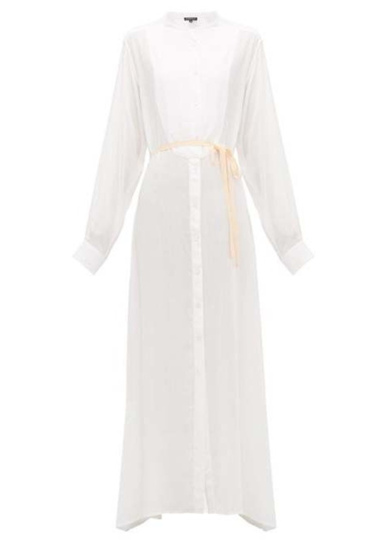 Ann Demeulemeester Ewing buttoned maxi dress