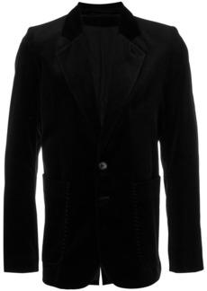 Ann Demeulemeester fitted blazer - Black