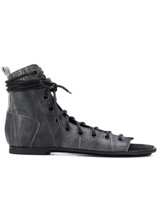 Ann Demeulemeester flat lace-up sandals
