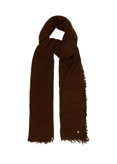 Ann Demeulemeester Frayed-edge cashmere scarf