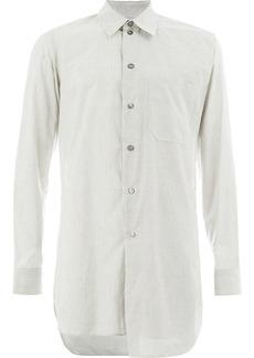 Ann Demeulemeester Grise asymmetric oversized shirt - White