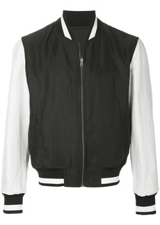 Ann Demeulemeester Grise reversible bomber jacket - Black