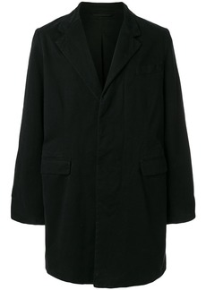 Ann Demeulemeester Grise single-breasted coat - Black