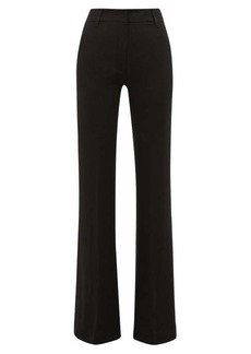 Ann Demeulemeester High-rise kick-flare trousers