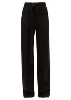 Ann Demeulemeester High-rise wide-leg trousers