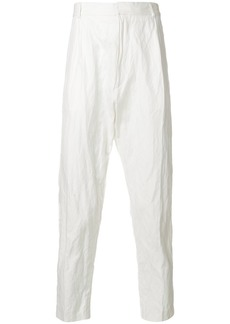 Ann Demeulemeester high-waisted trousers - White
