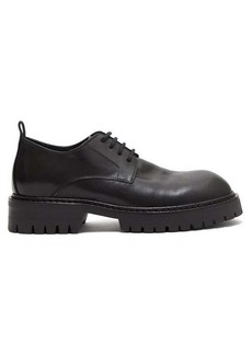 Ann Demeulemeester Lace-up leather derby shoes