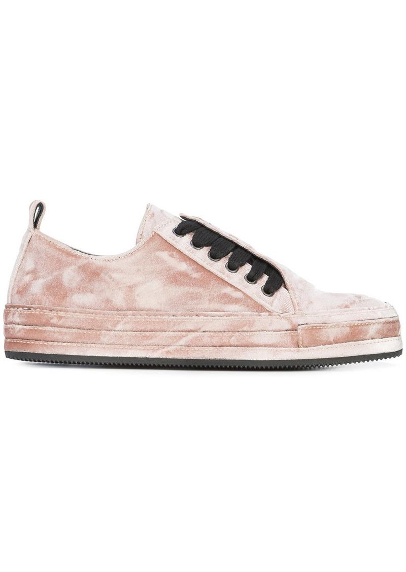 lace-up sneakers - Pink & Purple Ann Demeulemeester RRRAjVVNA