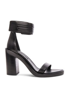 Ann Demeulemeester Leather Ankle Strap Heels
