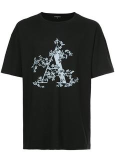 Ann Demeulemeester logo print T-shirt - Black