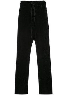 Ann Demeulemeester loose fit trousers - Black