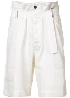 Ann Demeulemeester Mercator shorts - White