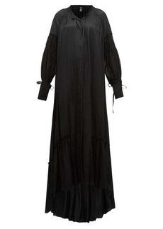 Ann Demeulemeester Nanette balloon-sleeve satin dress