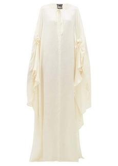 Ann Demeulemeester Nanette draped satin dress