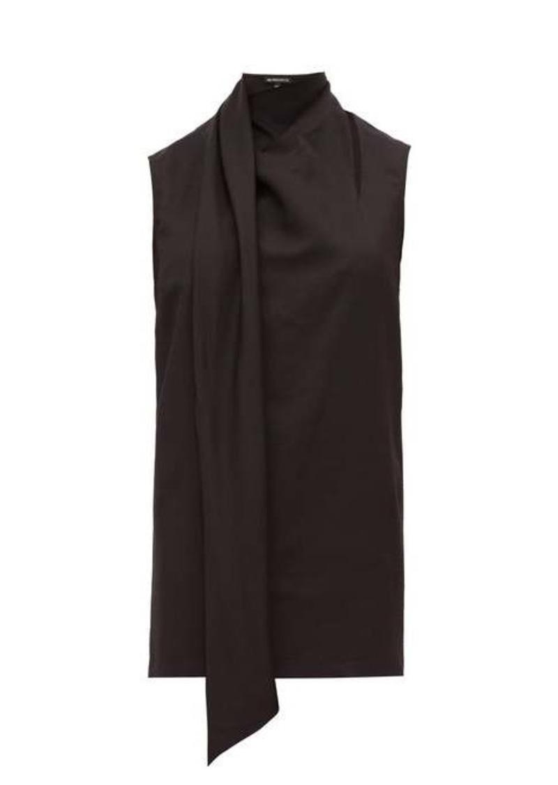 Ann Demeulemeester Neck-scarf wool-blend top