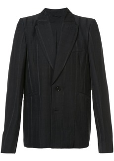 Ann Demeulemeester pinstripe blazer - Black