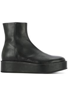 Ann Demeulemeester platform style boots - Black