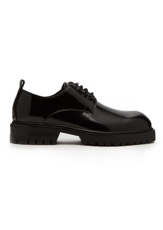 Ann Demeulemeester Polished leather derby shoes