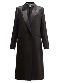 Ann Demeulemeester Satin shine overcoat