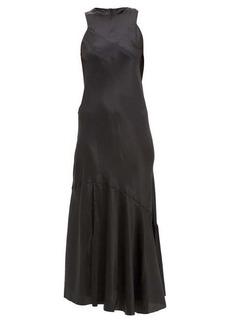 Ann Demeulemeester Silk-blend satin maxi dress
