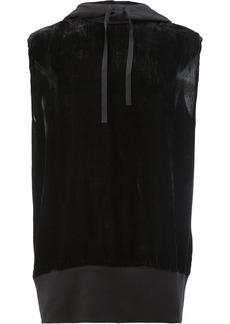 Ann Demeulemeester sleeveless hoodie - Black