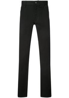 Ann Demeulemeester straight leg jeans - Black