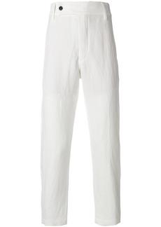 Ann Demeulemeester straight-leg trousers - White