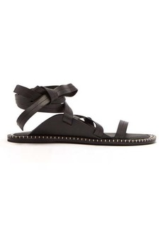Ann Demeulemeester Strappy leather sandals