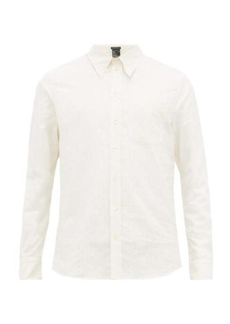 Ann Demeulemeester Striped cotton shirt