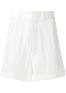 Ann Demeulemeester tailored-style shorts - White