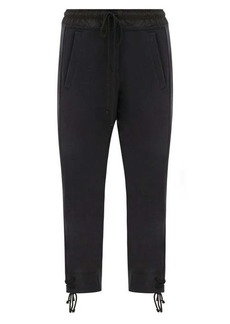 Ann Demeulemeester Tie-cuff cotton track pants