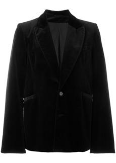Ann Demeulemeester velvet jacket - Black